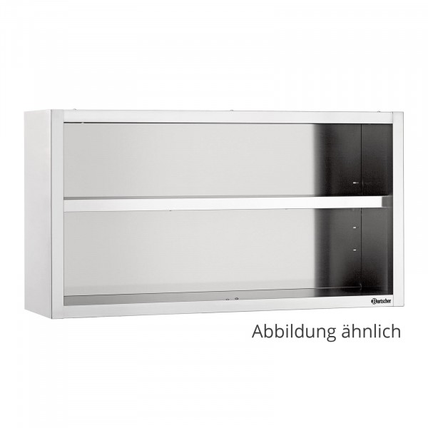 Bartscher Seinäkaappi avoin 400 - B 1400mm