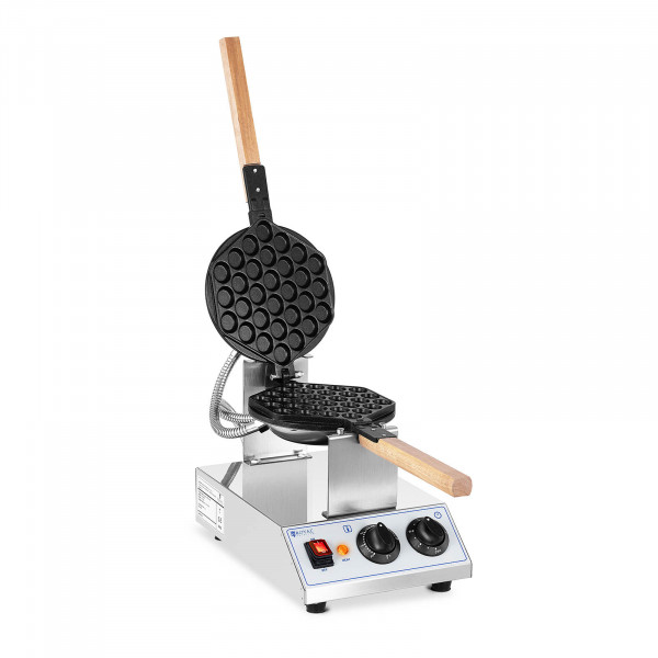 Kuplavohvelirauta - 1 415 W - Royal Catering - 50 - 250 °C - ajastin: 0 - 5 min