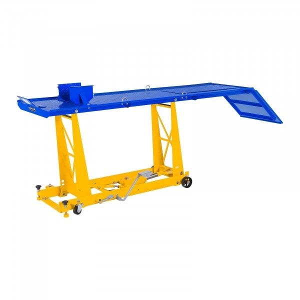 Moottoripyöränostin - 450 kg - 206 x 55 cm