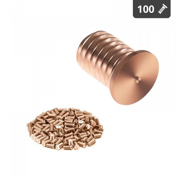 Hitsauspultit - M6 - 10 mm - teräs - 100 kpl
