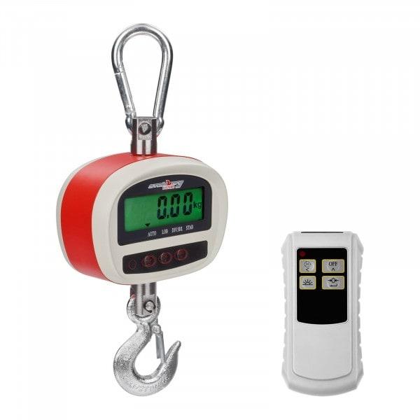 Koukkuvaaka - 300 kg / 50 g - LCD