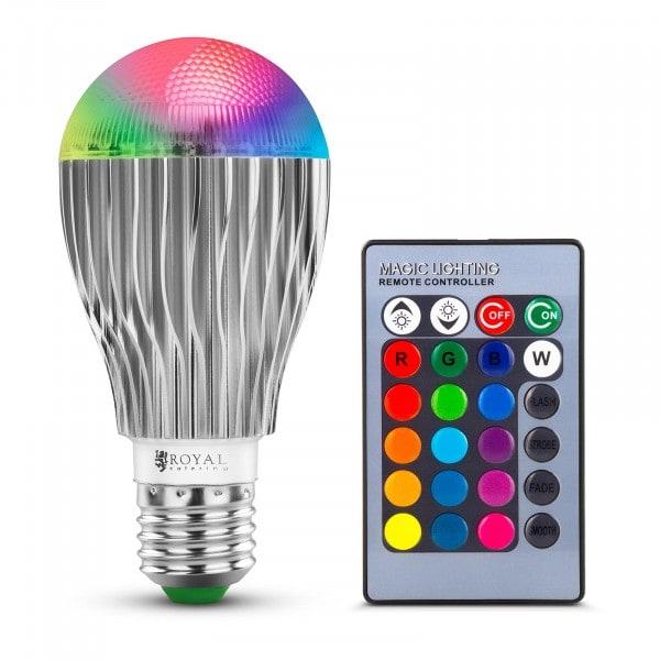Väriä vaihtava LED-lamppu - 16 väriä - 5 W