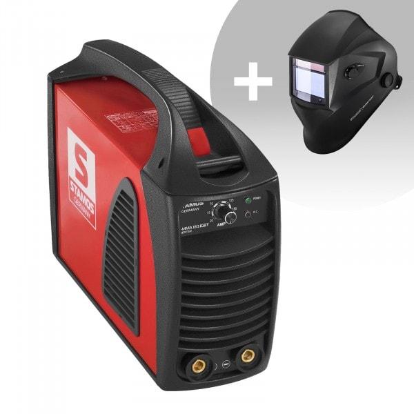 Hitsaussetti Puikkohitsauskone - 180 A - Hot Start - IGBT + Hitsausmaski – Blaster – ADVANCED SERIES