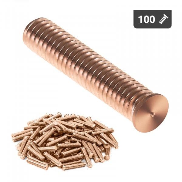Hitsauspultit - M8 - 40 mm - teräs - 100 kpl