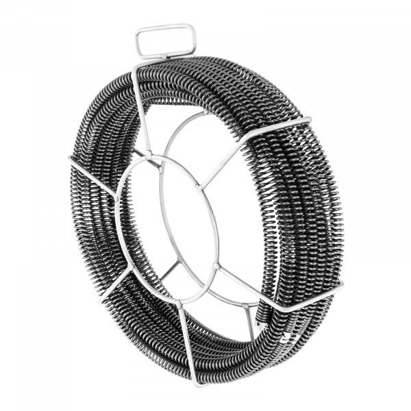 Viemärinavausvaijeri-setti 5 x 2,3 m / Ø 16 mm + 1 x 2,4 m / Ø 15 mm