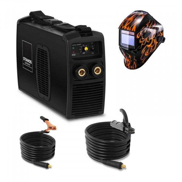 Hitsaussetti Puikkohitsauskone - 250 A - 230 V + Hitsausmaski – Firestarter 500 – ADVANCED SERIES
