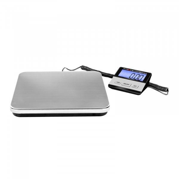 Digitaalinen pakettivaaka - 200 kg / 50 g - Basic - ulkoinen LCD