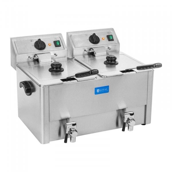 Rasvakeitin - 2 x 13 litraa - EGO-termostaatti