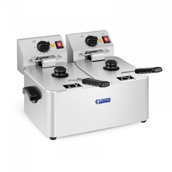Rasvakeitin - 2 x 8 litraa - EGO-termostaatit