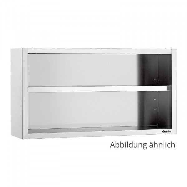 Bartscher Seinäkaappi avoin 400 - B 2000mm